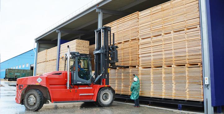 Проведение процессов сушки древесины